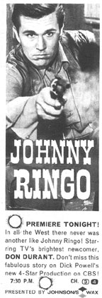 """Johnny Ringo"" ad"