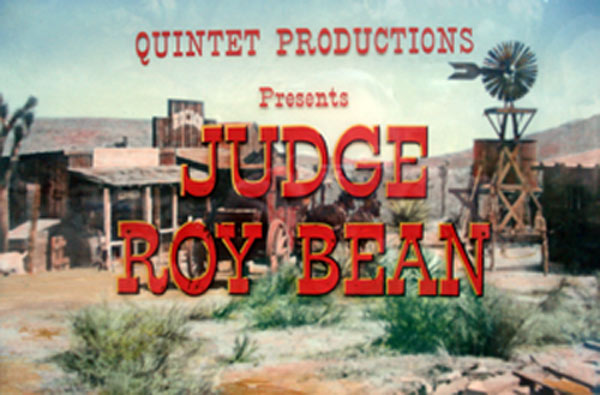 Judge Roy Bean.