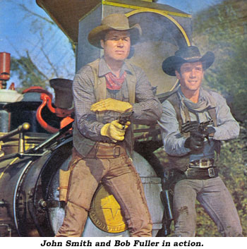 John Smith and Robert Fuller in action.