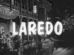 "Opening credit for ""Laredo""."