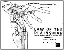 "TV GUIDE ad for ""Law of the Plainsman""."