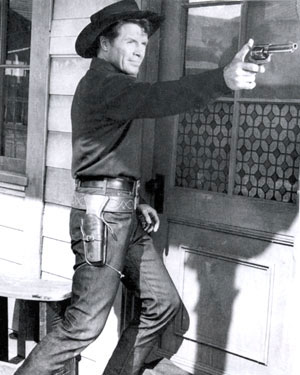 Robert Horton as the Man Called Shenandoah.