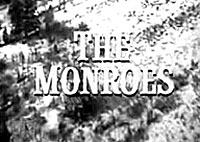 "Opening logo for ""The Monroes""."
