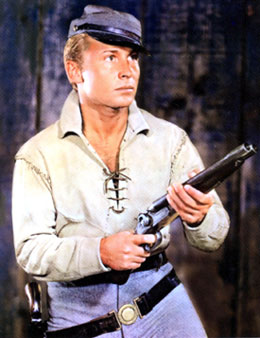 "Nick Adams as ""The Rebel""."