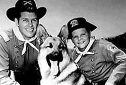 Rip Masters (Brown), Rin Tin Tin, Rusty (Aaker).