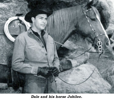 Dale with his horse Jubilee.