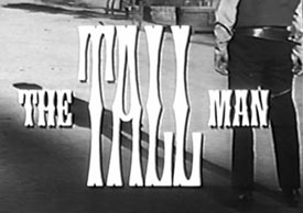 """The Tall Man"" logo"