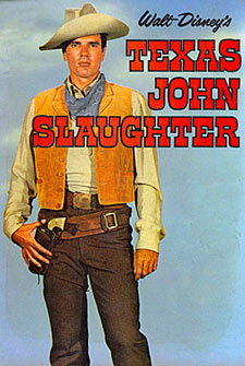 "Ealt Disney's ""Texas John Slaughter"", Tom Tryon."