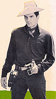 Tom Tryon as Texas John Slaughter.