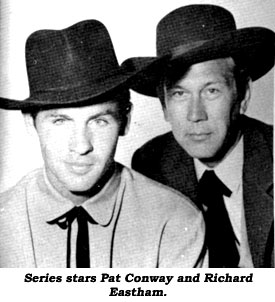 Series stars Pat Conway and Richard Eastham.