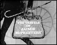 "Logo for ""The Travels of Jaimie McPheeters""."