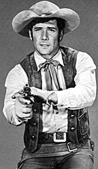 "Robert Fuller played scout Cooper Smith on ""Wagon Train""."