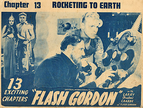 "Title card for Chapter 13 of ""Flash Gordon""."