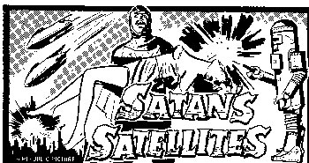 "Newspaper ad for ""Satan's Satellites""."