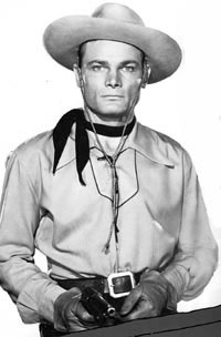 "George Turner as the ""Son of Zorro""."