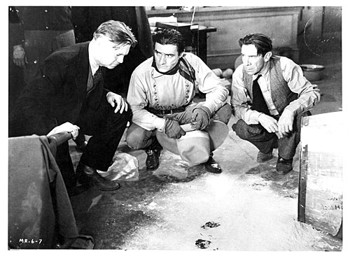 """The Miracle Rider""  original still with Edward Hearn, Tom Mix and Ernie Adams."