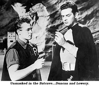 Unmasked in the Batcave...Duncan and Lowery.