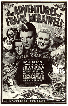 """The Adventures of Frank Merriwell"" serial poster."