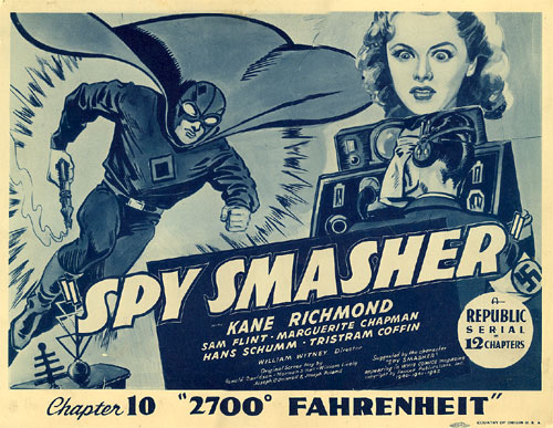 "Title card for Chapter 10 of ""Spy Smasher""."