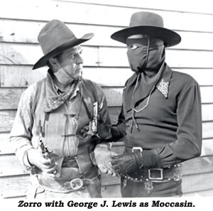 Zorro with George J. Lewis as Moccasin.