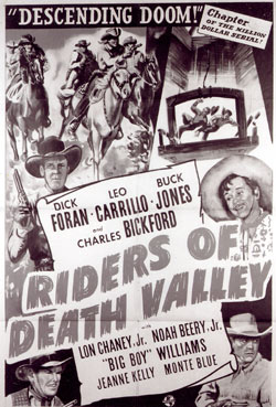 "Poster for ""Riders of Death Valley""."