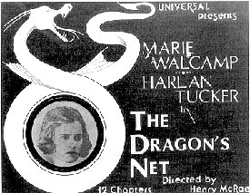 "Marie Walcamp in ""The Dragon's Net""."