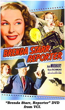 "DVD of ""Brenda Starr, Reporter"" from VCI."