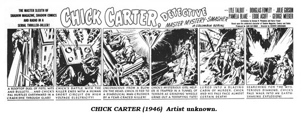 Chick Carter (1946) Artist unknown.