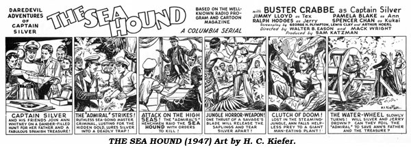 The Sea Hound (1947) Art by H. C. Kiefer.