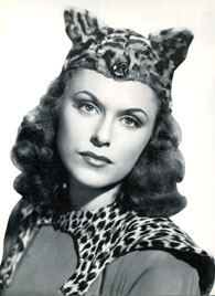 Linda Stirling as the Tiger Woman.