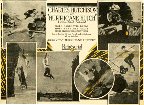 "Charles Hutchinson in ""Hurricane Hutch""."