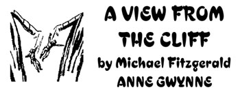 View from a Cliff w/ Anne Gwynne by Mike Fitzgerald