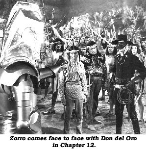 Zorro's Fighting Legion Scene