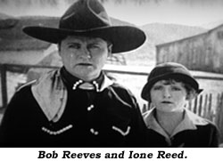 Bob Reeves and Ione Reed.