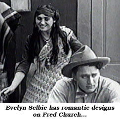 Evelyn Selbie has romantic designs on Fred Church...