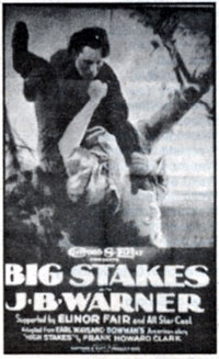 "J. B. Warner in ""Big Stakes""."