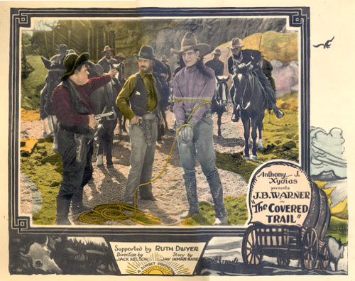 "J. B. Warner in ""The Covered Trail""."
