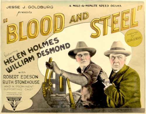 "William Desmond in ""Blood and Steel""."