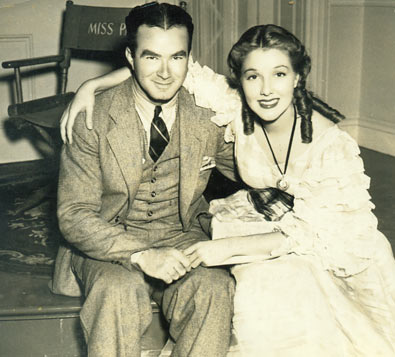 King Vidor and Jean Parker