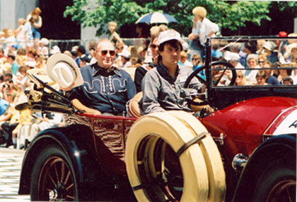 Gene Autry was Grand Marshal for the parade.