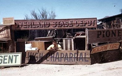 "Look what Joel O'Brien found ""round back"" at Old Tucson in Arizona when he visited there in 1972."