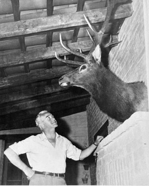 Bill Boyd always admired a buck.