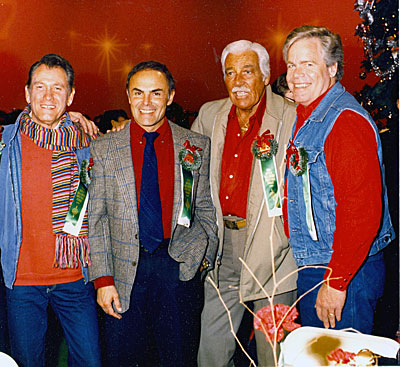 Christmastime with Earl Holliman, John Saxon, Cesar Romero and Doug McClure.