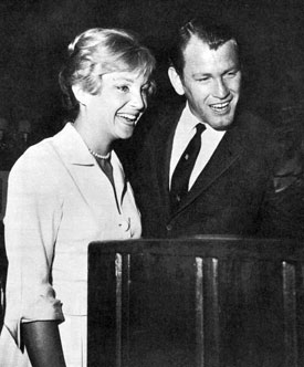 """Hotel de Paree"", ""Wide Country""—Earl Holliman and actress Susan Oliver."