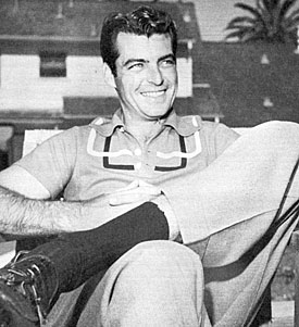 """The Texan""—Rory Calhoun."