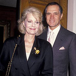 """Destry""—John Gavin and wife/actress Constance Towers during Gavin's time as Ambassador to Mexico ('81-'86) under President Reagan."