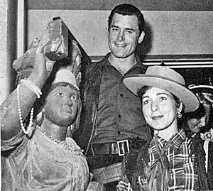 Clint Walker with wife Verna and...you tell me!!!!