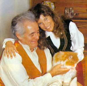 """High Chaparral""'s Henry Darrow and actress/screenwriter/wife Lauren in 1993."