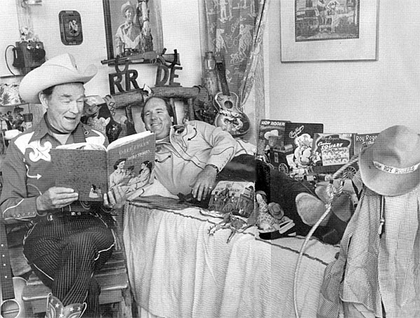 Roy Rogers and son Dusty relive a few childhood memories.