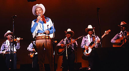 Roy performed with the current Sons of the Pioneers at the Western Music Association in Tucson, AZ in 1989.